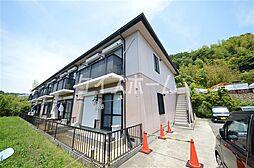 兵庫県神戸市須磨区車字霜ノ下の賃貸アパートの外観