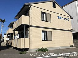 池田ハイツC[1階]の外観