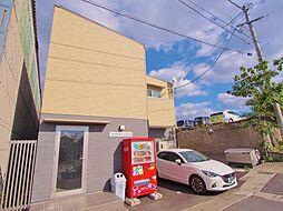 広島県広島市安芸区船越南4丁目の賃貸アパートの外観
