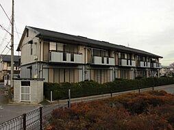 千葉県野田市尾崎台の賃貸アパートの外観