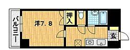 第40長栄グランドムール上鳥羽[6階]の間取り