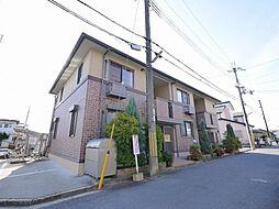 奈良県奈良市北永井町の賃貸アパートの外観