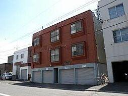 北海道札幌市北区北二十四条西2丁目の賃貸アパートの外観