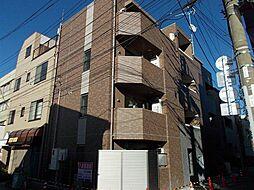 東京都大田区羽田4丁目の賃貸マンションの外観