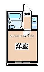 小阪CTスクエア[2階]の間取り