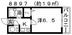 杉村ハイツII[305号室号室]の間取り