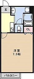 PIA.grace錦[203号室号室]の間取り