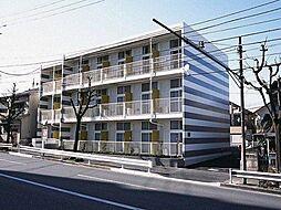 東京都八王子市追分町の賃貸アパートの外観