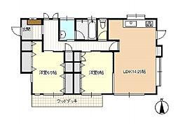 [一戸建] 静岡県浜松市西区入野町 の賃貸【/】の間取り