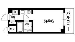 三耕マンション[208号室]の間取り