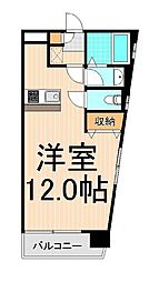 エバー綾瀬II[4階]の間取り