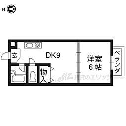 伊勢田駅 4.3万円