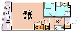 パークアクシス博多[7階]の間取り