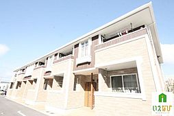 香川県高松市郷東町の賃貸アパートの外観