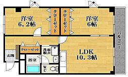 メゾン・ド・ミキ PartI[3階]の間取り