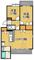 横浜ビレッジ壱番館[4-1号室]の間取り