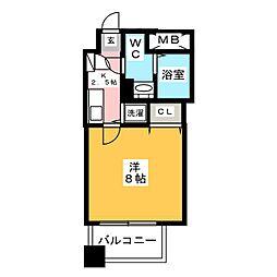宝州博多第一ビル[7階]の間取り