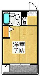 NOVA-F[302号室]の間取り
