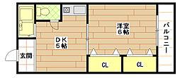 エクセル'97[3階]の間取り