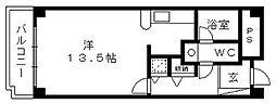 佐鳴湖パークタウンサウス[C1 519号室]の間取り