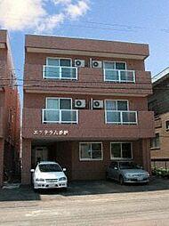 北海道札幌市中央区北七条西21丁目の賃貸アパートの外観