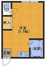 プラ・ディオ大和田[2階]の間取り