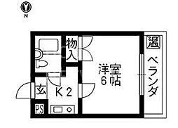 テラスICHI[214号室号室]の間取り