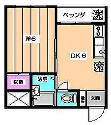 メゾンイシハラ[2階]の間取り