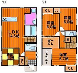 [一戸建] 岡山県岡山市南区松浜町丁目なし の賃貸【/】の間取り