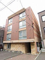 北海道札幌市東区北十六条東12丁目の賃貸マンションの外観