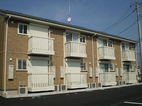 セジュールグランモアA・B[2階]の外観