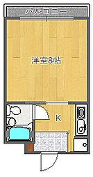 ニューヒル高塚[3階]の間取り
