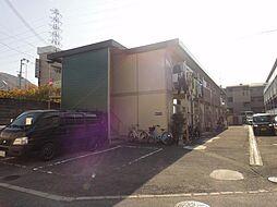 大阪府四條畷市中野2丁目の賃貸アパートの外観