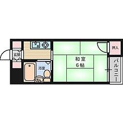 ハイツ江東2[3階]の間取り