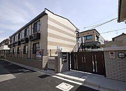 大阪府四條畷市楠公1丁目の賃貸アパートの外観