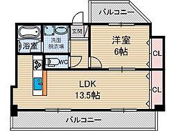 岩井ビル[2階]の間取り