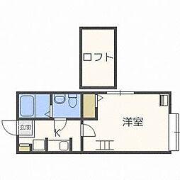 compartment環状通[1階]の間取り