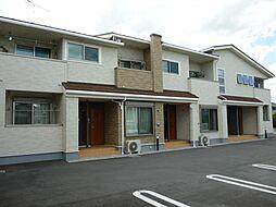 滋賀県東近江市大森町の賃貸アパートの外観