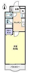 スカイハウス八千代[1階]の間取り