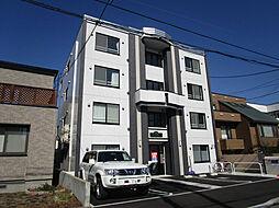 北海道札幌市東区北三十七条東17丁目の賃貸マンションの外観