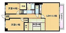 エスタシオン野江[6階]の間取り