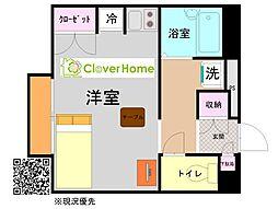 神奈川県横浜市瀬谷区阿久和南4丁目の賃貸アパートの間取り