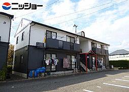 フレグランスUnuma C,D[1階]の外観