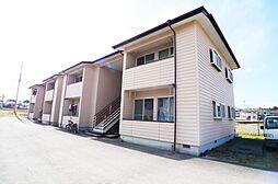 栃木県日光市瀬尾の賃貸アパートの外観