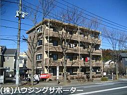東京都八王子市寺田町の賃貸マンションの外観