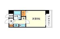 エスリード新大阪第3[5階]の間取り