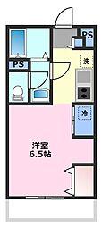 プライムコート鶴ヶ島[2階]の間取り