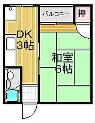 TMDビル[206号室号室]の間取り