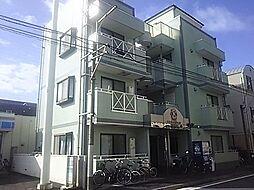 神奈川県横浜市港北区樽町4の賃貸マンションの外観