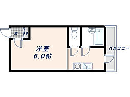 清州プラザ高井田[402号室]の間取り